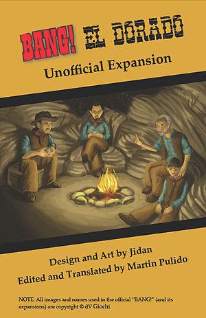 Bang! (card game) - Cover to the El Dorado Guidebook