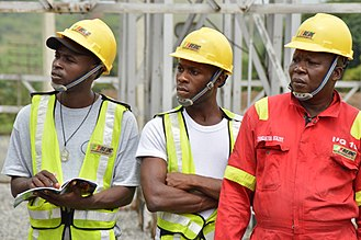 Power Holding Company of Nigeria - BEDC workers in Nigeria (2017).