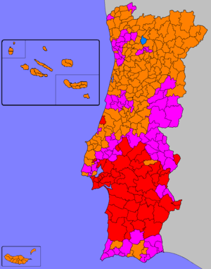 European Parliament election, 1989 (Portugal) - Image: Eleições europeias de 1989 (Portugal)