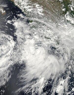 2014 Pacific hurricane season - Image: Elida Jun 30 2014 2035Z