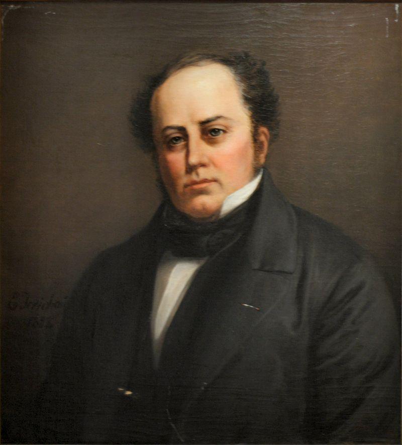 Элизабет Иерихау Бауманн освобождает Эмиля Хорнемана 1858.jpg