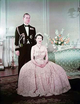 Duchess of Edinburgh - Image: Elizabeth II and Philip