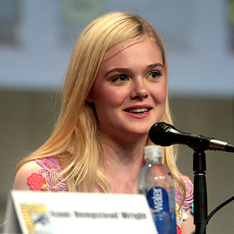 The Boxtrolls - Image: Elle Fanning, The Boxtrolls, 2014 Comic Con 1 (crop)