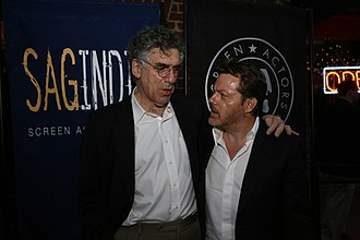 Eddie Izzard - Elliott Gould and Eddie Izzard