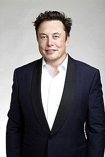 Elon Musk South African-born American entrepreneur