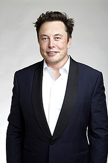Musk at the Royal Society admissions day in London, July 2018
