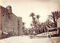 Elx, castell i molí fariner. 1870, J. Laurent.jpg