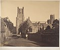 Ely Cathedral, from the Grammar School MET DP206651.jpg