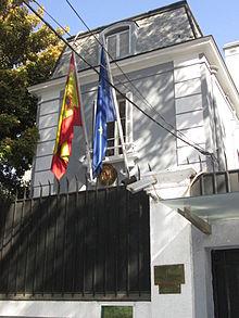 embajada de espana en viena: