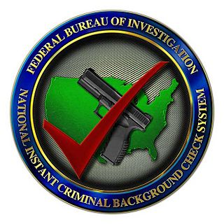 National Instant Criminal Background Check System U.S. system for determining if prospective firearms or explosives buyers are eligible to buy