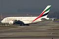 Emirates, A6-EDA, Airbus A380-861 (16269379478).jpg