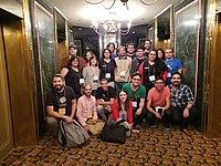Encuentro de Iberocoop en Wikimanía 2018 01.jpg