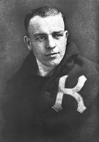 1923 NCAA Men's Basketball All-Americans - Paul Endacott of Kansas, the 1923 Helms Foundation Player of the Year.
