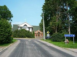 Endriejavas - Endriejavas centre