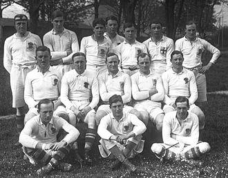 Arthur James Dingle - England XV v France, 13 April 1914, Colombes, France