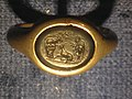Engraved signet ring with pastoral scene - Freud Museum London - front view.jpg