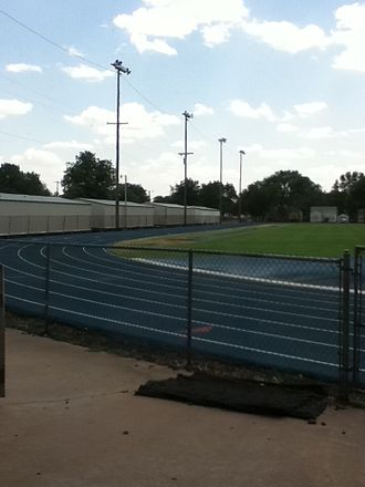 Enid High School - Enid High School's track.
