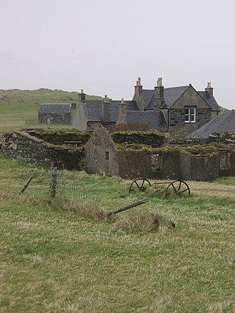 Ensay (Outer Hebrides) - Image: Ensayhouse