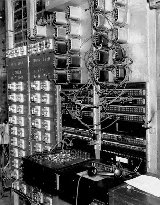 Equipment at Repeater Station, Daegu 1950-08-01