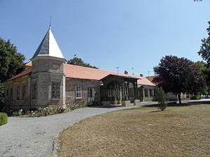 Erdut Agreement - Castle of Adamovich-Cseh, where the Erdut Agreement was signed.