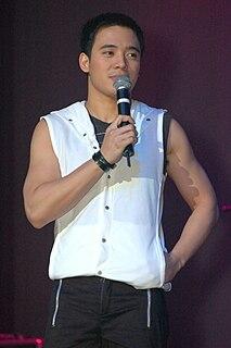 Erik Santos Filipino singer and commercial model
