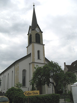Erlinsbach, Solothurn - Catholic Church in Erlinsbach