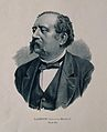 Ernest Charles Lasègue. Reproduction of gouache (?) by Reymo Wellcome V0003383.jpg