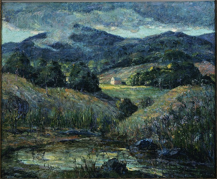 Plik:Ernest Lawson - Approaching Storm - Google Art Project.jpg