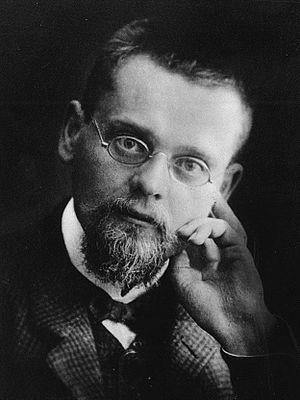 Ernst Zermelo - Ernst Zermelo in the 1900s