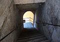 Escales cap avall, torres de Quart.JPG