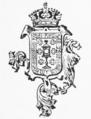 Escudo da Galiza no tomo 5 da Historia de Galicia de Murguia (1913).png