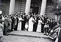 Esküvői csoportkép, 1946 Budapest. Fortepan 104817.jpg