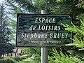 Espace de loisirs Stéphane Bruey (Belley), 2019-09-09, panneau de rue.jpg