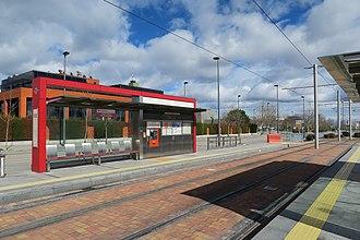 José Isbert (Madrid Metro) - Image: Estación de José Isbert