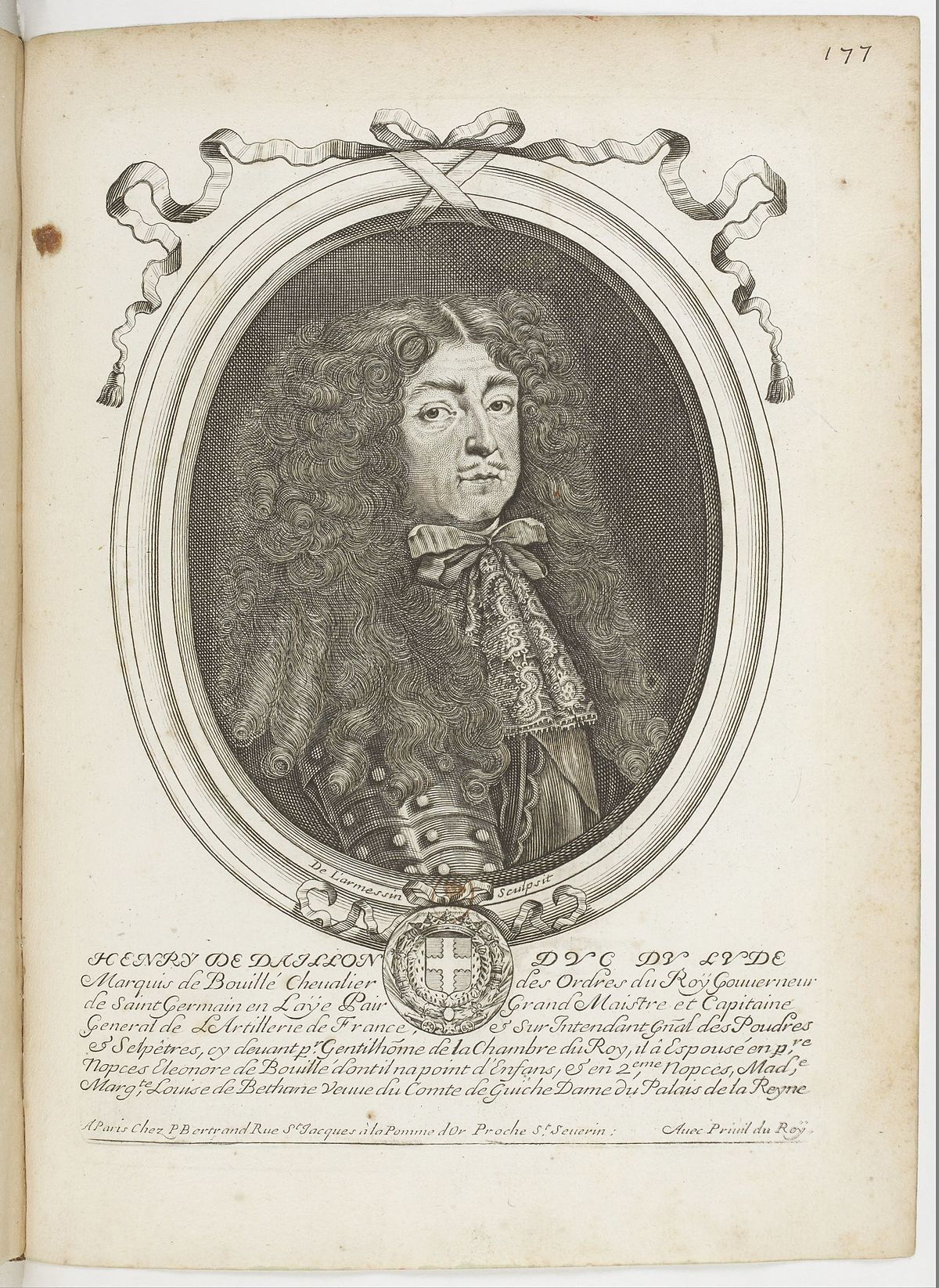 Billedresultat for Henri de Daillon