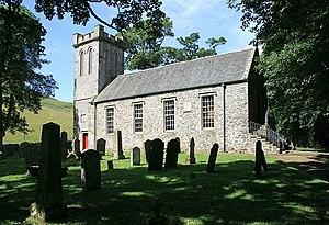 Ettrick, Scotland - Image: Ettrick Parish Church geograph.org.uk 902352