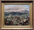 Eugène delacroix, botzaris sorprende l'accampamento turco e cade fatalmente ferito, 1860-62.jpg