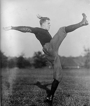 1915 Vanderbilt Commodores football team - Virginia's Buck Mayer (pictured) was the South's first consensus All-American.