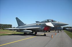 Eurofighter Typhoon of RAF at Radom Air Show 2009.jpg