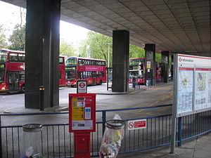 Euston bus station - Image: Eustonbusstation 707