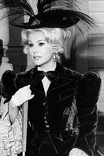 Eva Gabor Hungarian-American actress and businesswoman