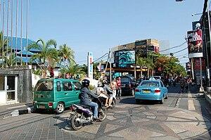 2002 Bali bombings - The bombing site and memorial in September 2007