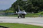 F-16C engaging mobile aircraft arresting system.jpg