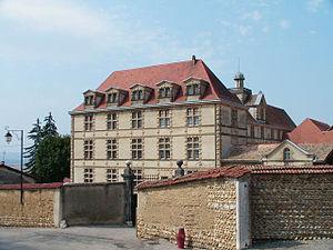 La Côte-Saint-André - The château in La Côte-Saint-André