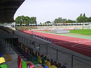 FBK Stadion from the inside