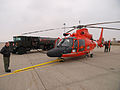 FEMA - 40310 - Coast Guard helicopter at the airport in North Dakota.jpg