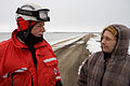 FEMA - 40386 - Search and Rescue volunteer speaks with a resident in Minnesota.jpg