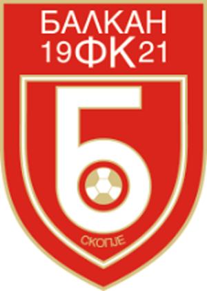 FK Balkan Skopje - Image: FK Balkan Skopje logo