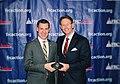 "FRC President Tony Perkins presents the ""True Blue"" award to Congressman Jim Banks.jpg"