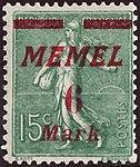 FR 1922 Memel MiNr111 B002.jpg
